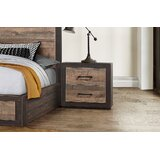 Slade 2 Drawer Nightstand by Union Rustic