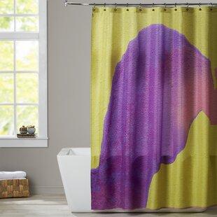 Deb McNaughton Purple To Pink Shower Curtain