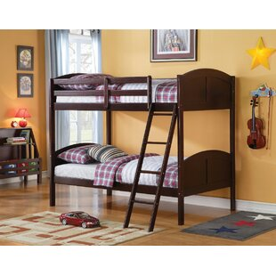 Franklintown Wooden Twin over Twin Bunk Bed