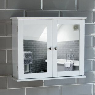 Vida Milano 57cm x 47cm Surface Mount Mirror Cabinet. By Wildon Home