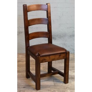Inexpensive Xan Genuine Leather Upholstered Dining Chair by Millwood Pines Reviews (2019) & Buyer's Guide