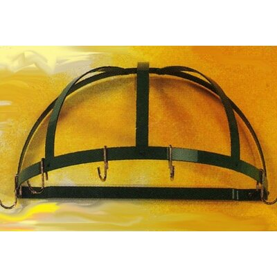 Kinetic Classicor Series Wrought-Iron Semicircle Pot Rack & Reviews ...