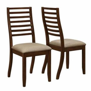Aghalislone Solid Wood Dining Chair (Set of 2) Bloomsbury Market