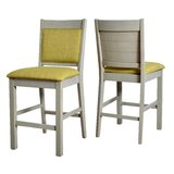 Pickard Ladder 25.51 Bar Stool (Set of 2) by Latitude Run®
