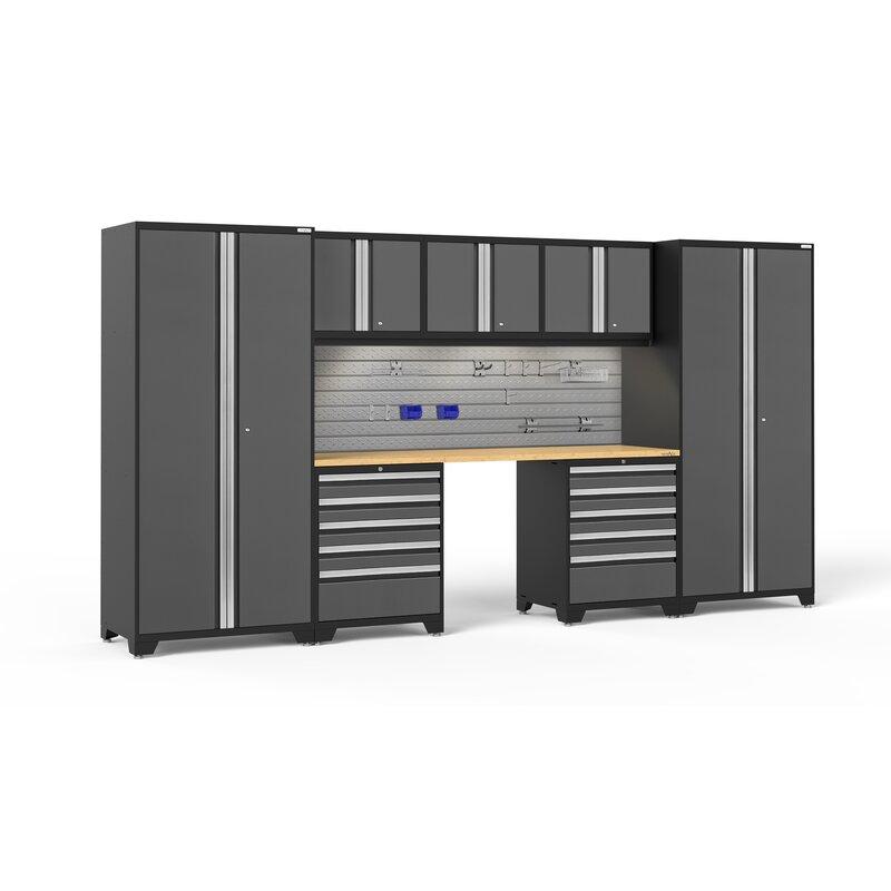 Newage Products Pro 3 0 Series 8 Piece Storage Cabinet Set Wayfair