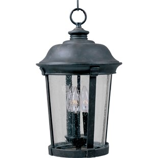 Inexpensive Arsenault 3-Light Outdoor Hanging Lantern By Darby Home Co