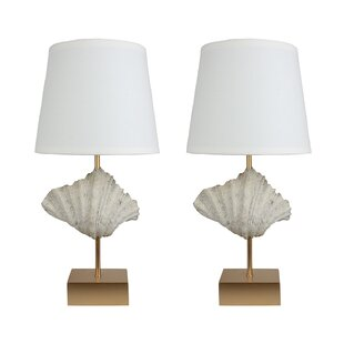 Shell 22.5 Table Lamp (Set of 2)