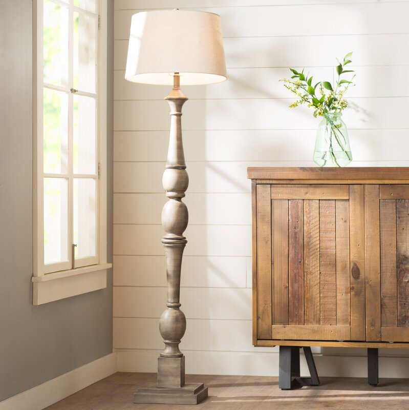 "Laurel Foundry Modern Farmhouse Doris 54"" Floor Lamp ..."