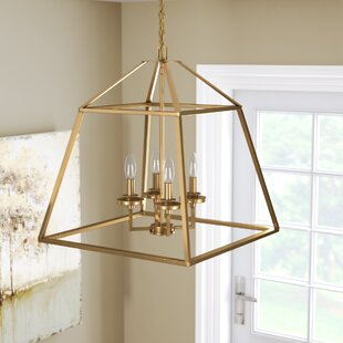 Jeanbaptiste 4-Light Foyer Lantern Pendant