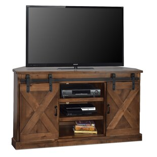 Buy clear Pullman Corner TV Stand for TVs up to 58 by Loon Peak Reviews (2019) & Buyer's Guide