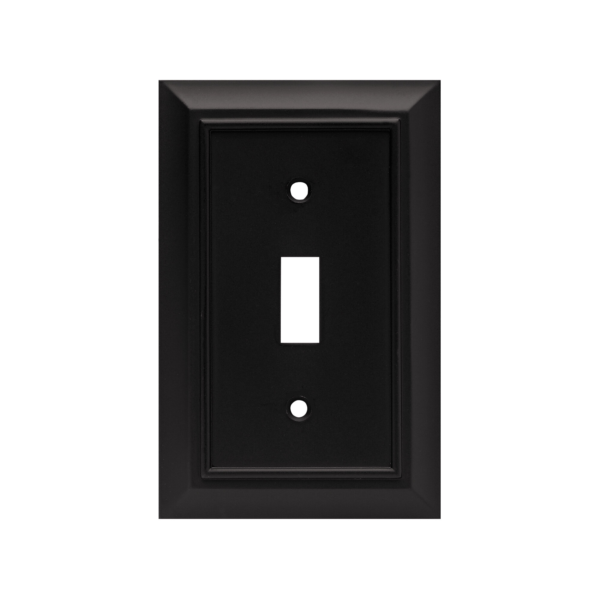 Franklin Brass Architectural 1 Gang Toggle Light Switch Wall Plate Reviews Wayfair