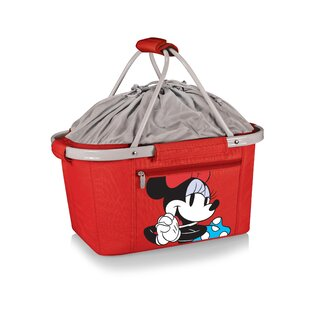 26 Minnie Mouse Metro Basket Collapsible Handheld Cooler