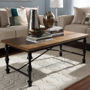 Julian Coffee Table with Magazine Rack by Wholesale Interiors