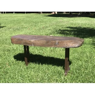 Brookhaven Oak Stone/Concrete Garden Bench