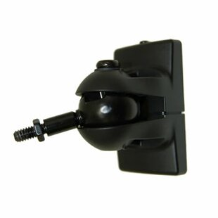 Universal Speaker Wall Mount in Black by Pinpoint Mounts