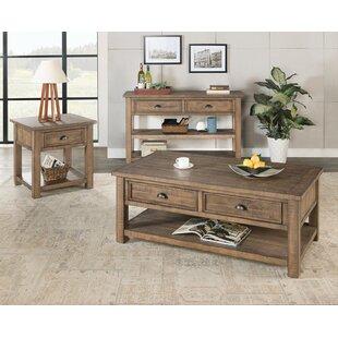 Risner 3 Piece Coffee Table Set