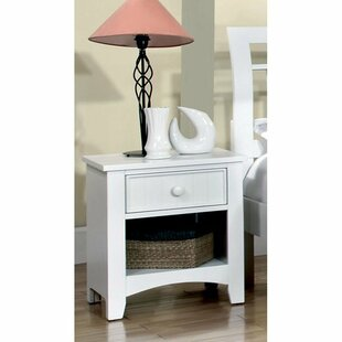Price comparison Bedford 1 Drawer Nightstand by Hokku Designs Reviews (2019) & Buyer's Guide