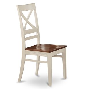 Loraine Solid Wood Dining Chair (Set Of 2) by Red Barrel Studio Great price