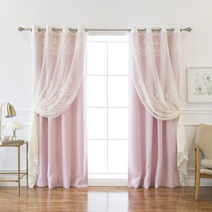 Lilac Blackout Curtains