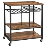 Shullsburg Caster Supported Kitchen Cart by Union Rustic
