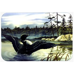 Loon Country Glass Cutting Board ByCaroline's Treasures