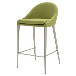 Check Prices Zeledon 26.5 Bar Stool (Set of 2) by Orren Ellis Reviews (2019) & Buyer's Guide