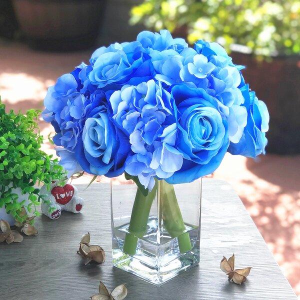 Navy Blue Flower Centerpiece Wayfair