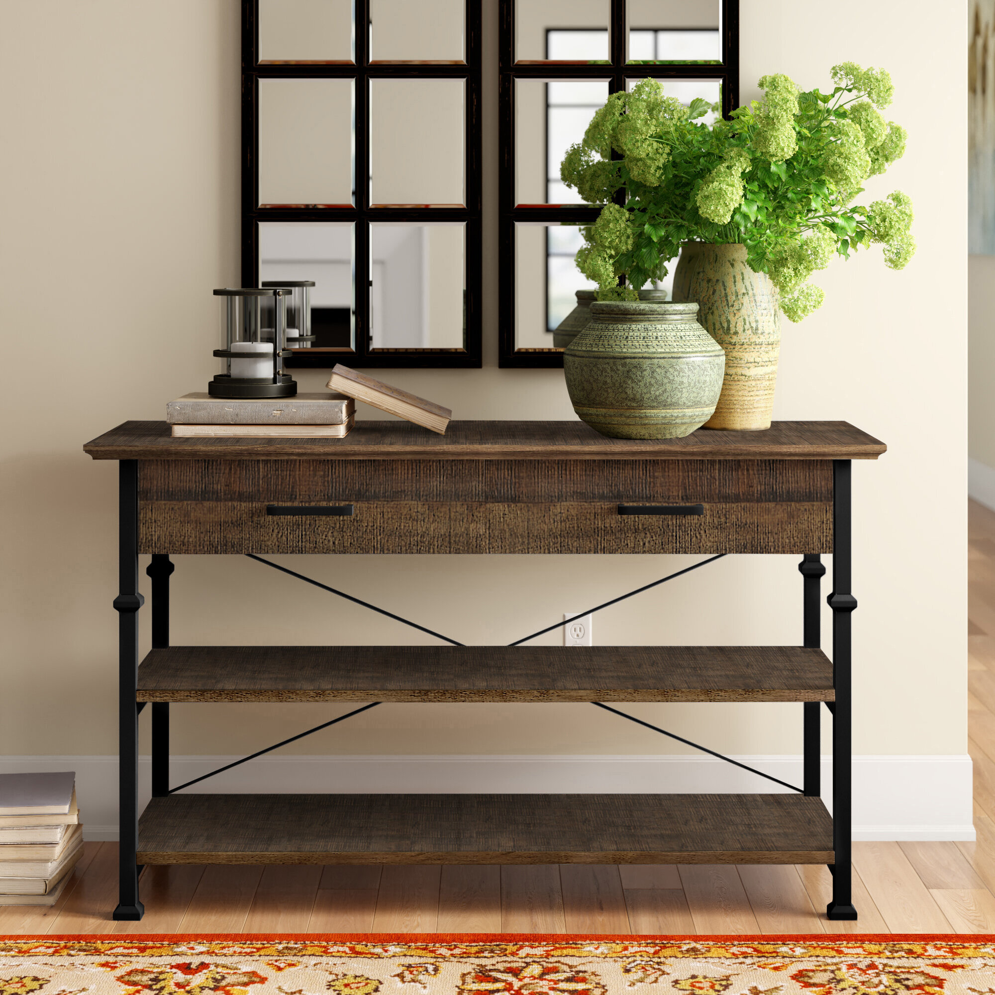 Poplar Traditional Console Tables You Ll Love In 2021 Wayfair