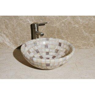 Order Stone Circular Vessel Bathroom Sink ByAllstone Group