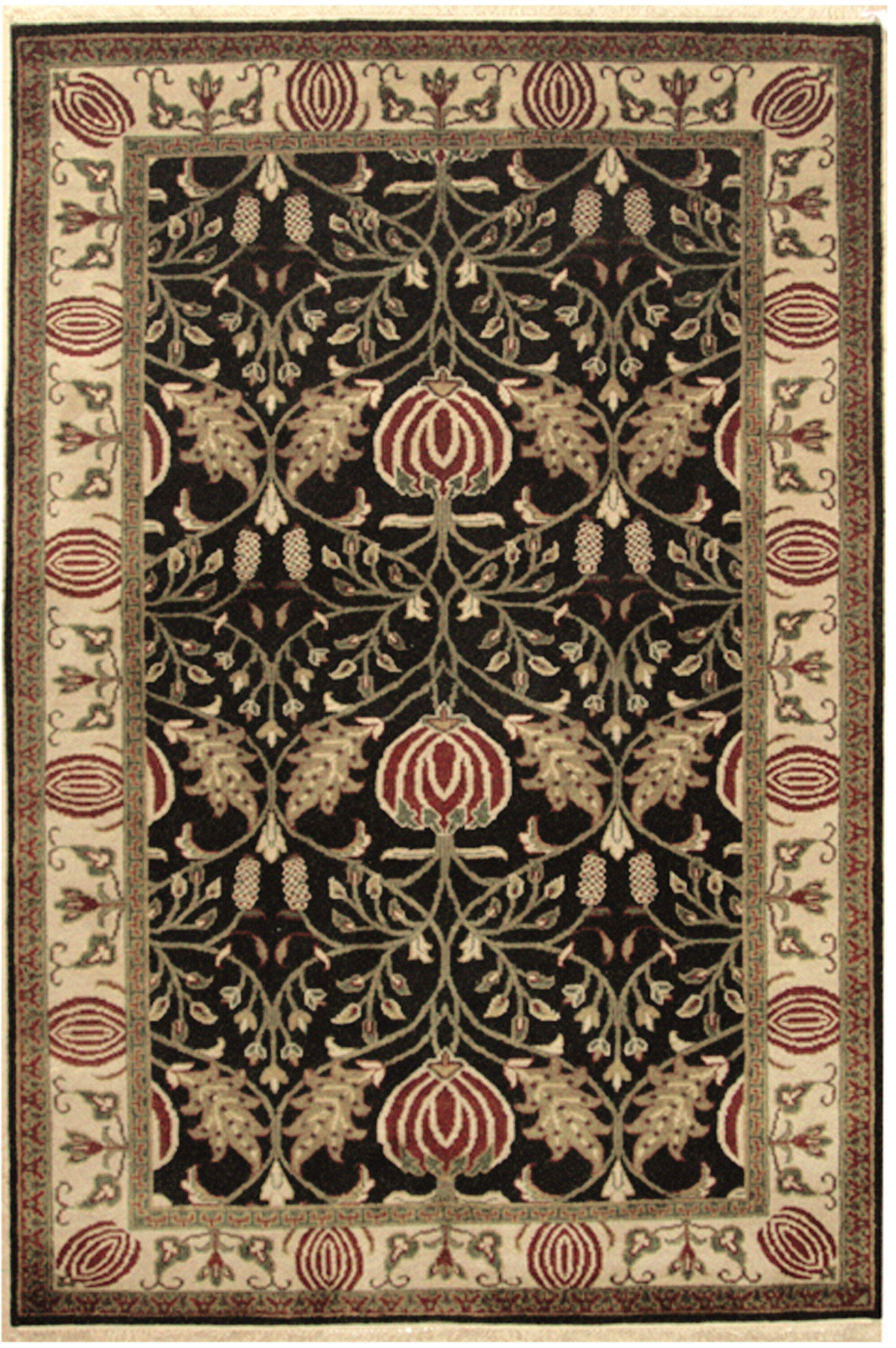 Crafts Hand Tufted Wool Area Rug