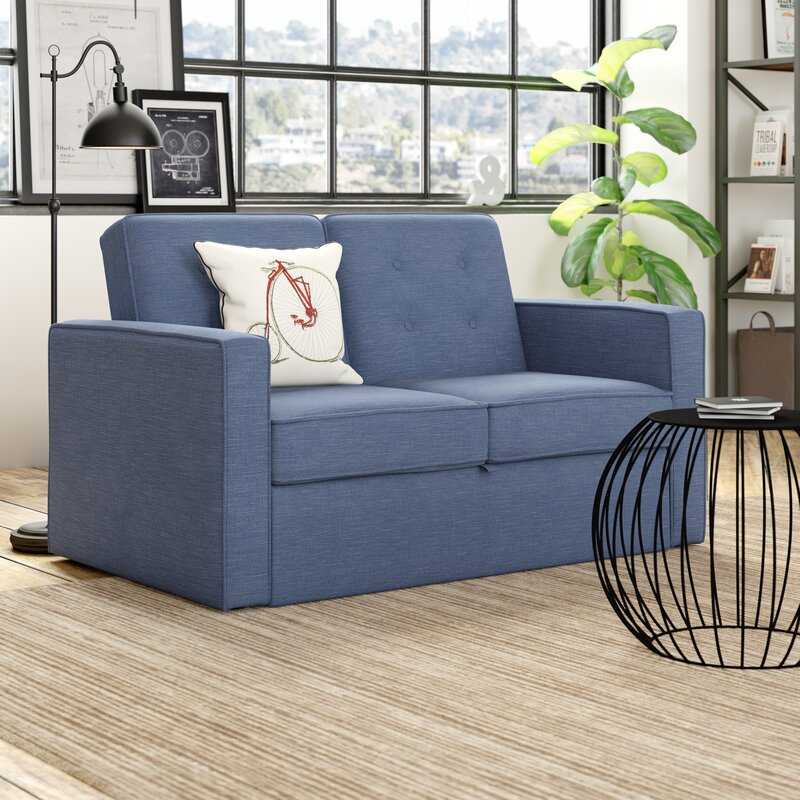 Out Of Stock Furniture: Hazelwood Home Atlas 2 Seater Fold Out Sofa Bed