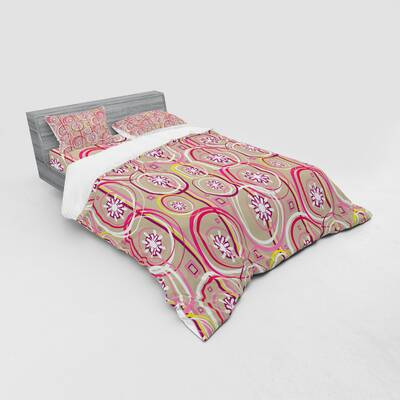 Kess InHouse Dawid ROC Inspired by Psychedelic Art 2 King Featherweight Sham