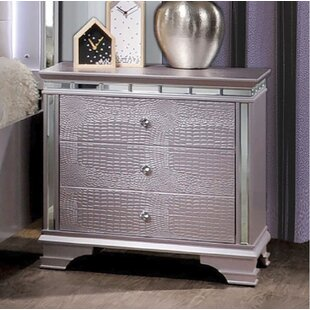 Dunshee 3 Drawer Nightstand by Rosdorf Park
