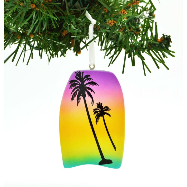 Personalized by Santa Palm Tree Personalized Christmas Ornament Hanging  Figurine | Wayfair - Personalized By Santa Palm Tree Personalized Christmas Ornament