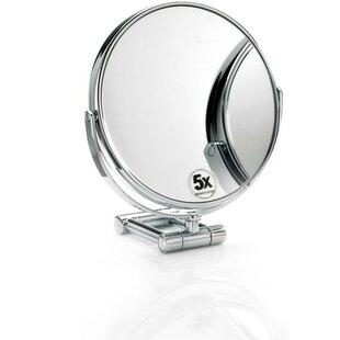 Korman Round Adjustable Makeup/Shaving Mirror BySymple Stuff
