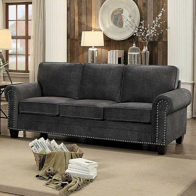 Charlton Home Iola Nail Head Trim Sofa