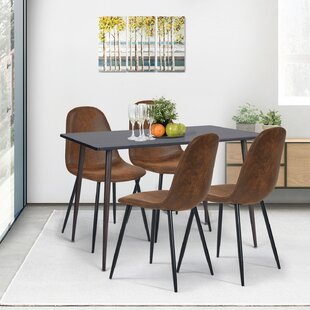 Gillham Side Chair in Brown (Set of 4)