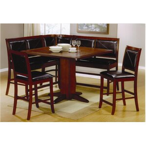 Clyde 4 Piece Counter Height Pub Set by R..
