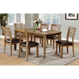 Natura Solid Wood Dining Table Hokku Designs
