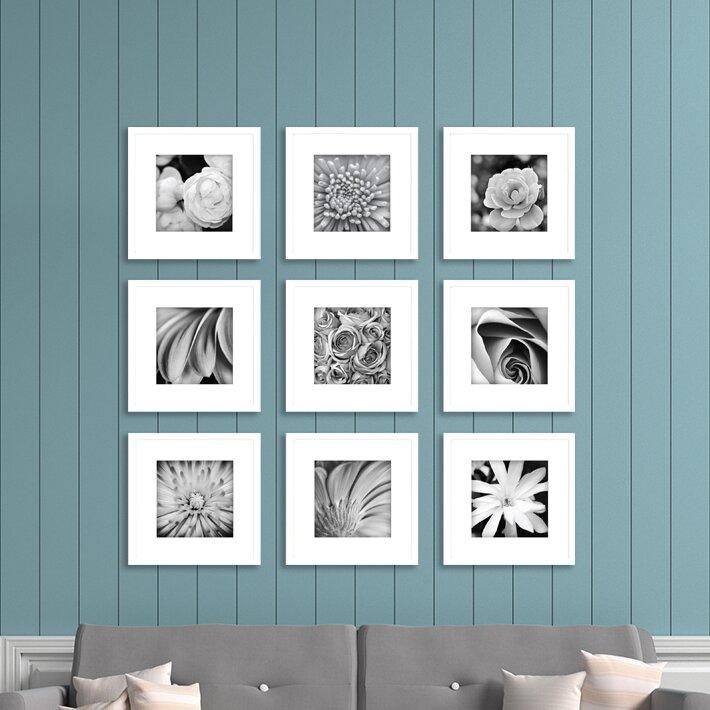 Nielsenbainbridge Gallery Perfect 9 Piece Picture Frame Set Reviews Wayfair