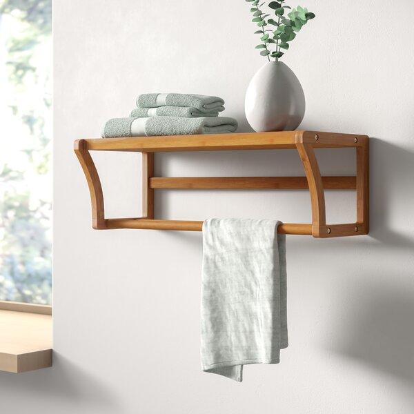 Wall Shelf With Hanging Rod Wayfair
