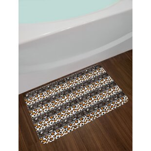 Lovely Zambia African Cheetah Bath Rug