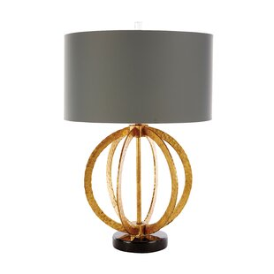Geo Hammered Globe 25 Table Lamp