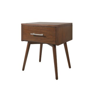 Berjen Leg 1 Drawer Nightstand