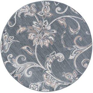 Arkadelphia Oriental Dark Gray Area Rug by Darby Home Co