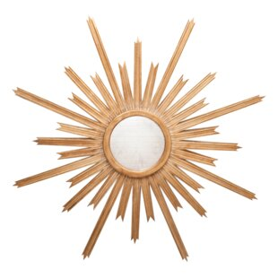 Worlds Away Starburst Accent Mirror