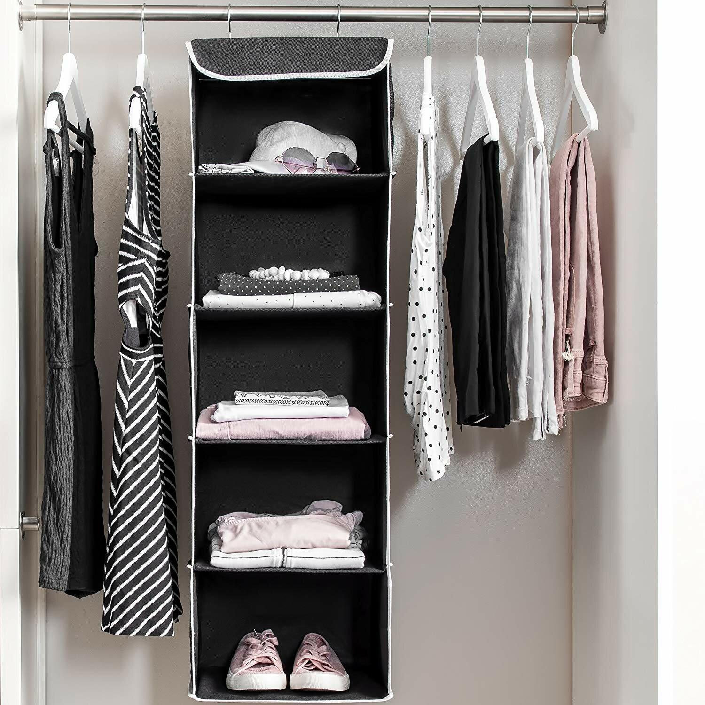 Genial Hanging Closet Shelves | Wayfair