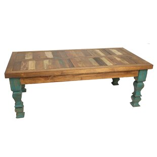 Crenata Reclaimed Old Door Coffee Table