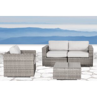 Whitmer 4 Piece Sectional Set with Cushions