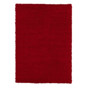 Cozy Red Indoor/Outdoor Area Rug